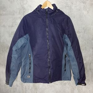 Lands' End Snow Jacket Purple Blue Small Outdoor